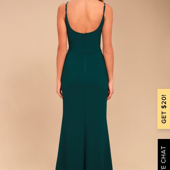 Lulu's Dresses & Skirts - Lulus green maxi dress